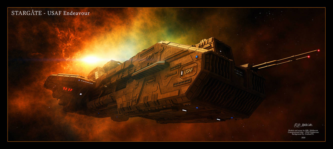 Stargate - USAF Endeavour July 8, 2020