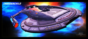 Star Trek - USS Thunderchild - Akira Class