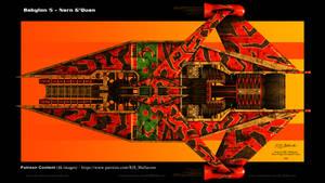 Babylon 5 - Narn G'Quan Wallpaper