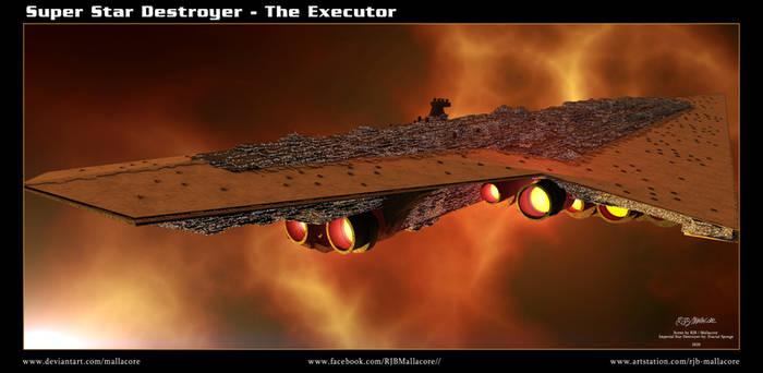 Star Wars - Super Star Destroyer - The Executor