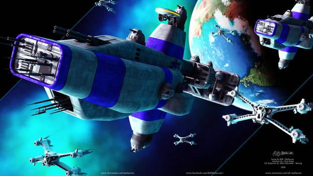 Babylon 5 - Earth Alliance Fleet