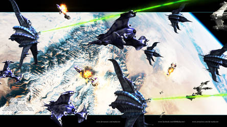 Babylon 5 - Battle of the Line by Mallacore
