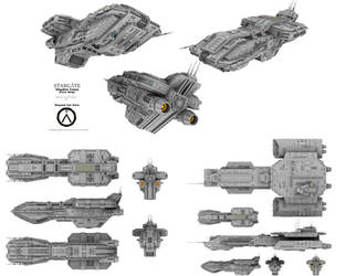 Stargate - Abydos Class (Core Ship) by Mallacore