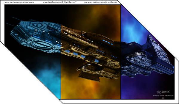 Stargate - Tricolor by Mallacore