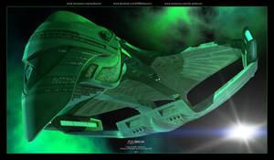 Star Trek -  Romulan D'deridex