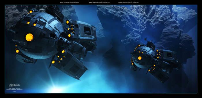 Farscape - Scarran Dreadnought - 2021