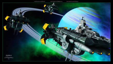 Farscape - Scarran Dreadnought 2 - 2021