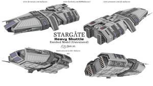 Stargate - Heavy Shuttle - Views 1