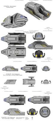 Stargate - Tau'ri Gate Ship / Puddle Jumper - 2021