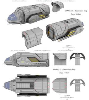 Stargate - GateShip - Cargo Module