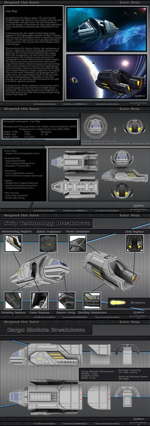 Stargate - Tau'ri Gate Ship - Spec Sheets - 2021