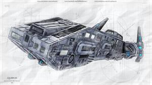 Stargate - Fenrir - Sketch Style - 2021