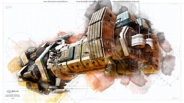 Expanse - Truman Class - Sketch Style - 2021