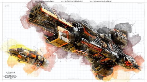 Expanse - MCRN - Sketch Style - 2021