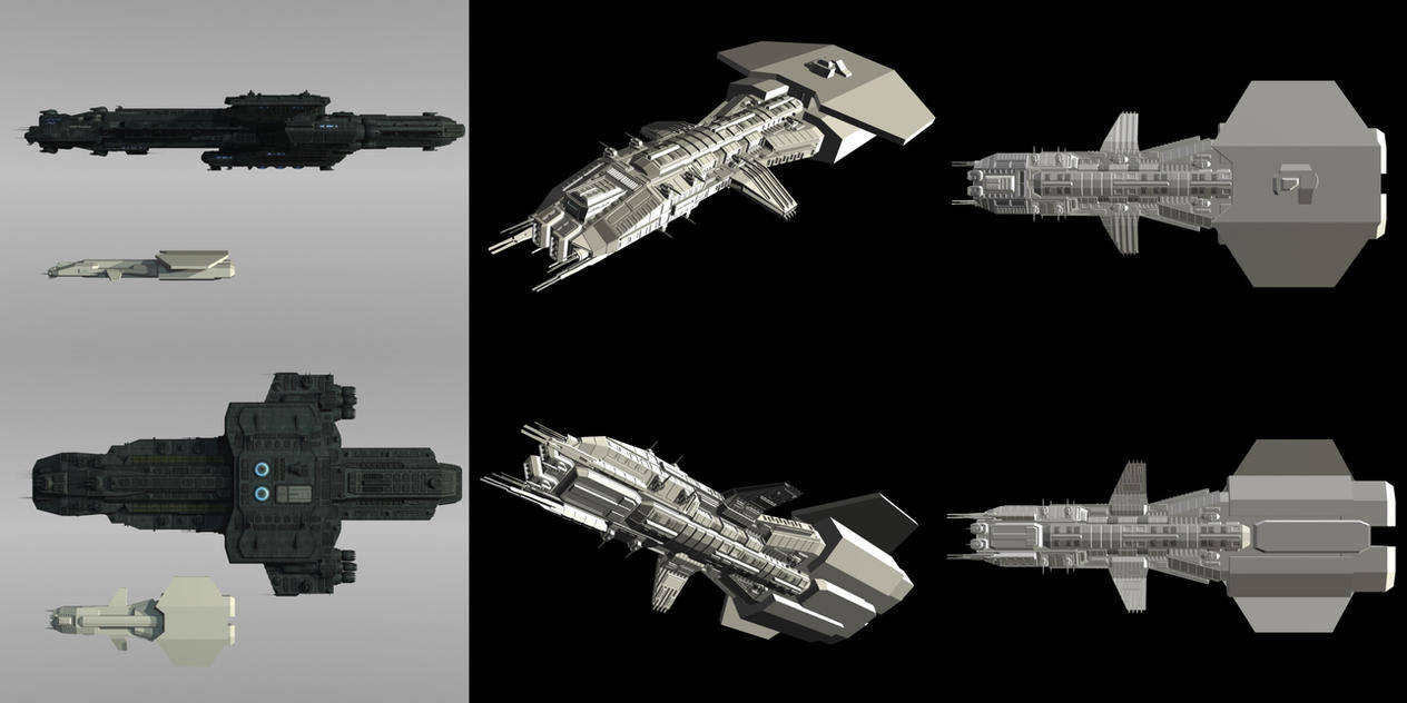 Original Stargate Ship Preview by Mallacore