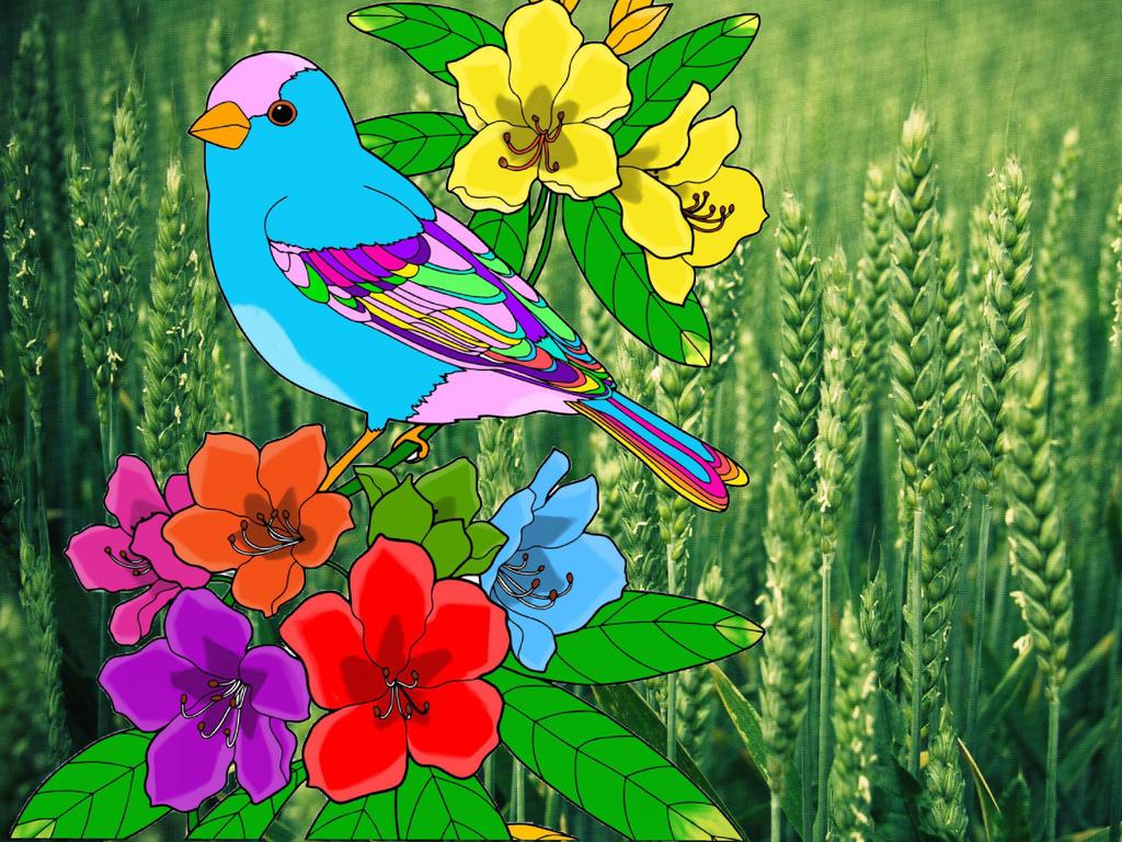 Free as a bird by yasofy