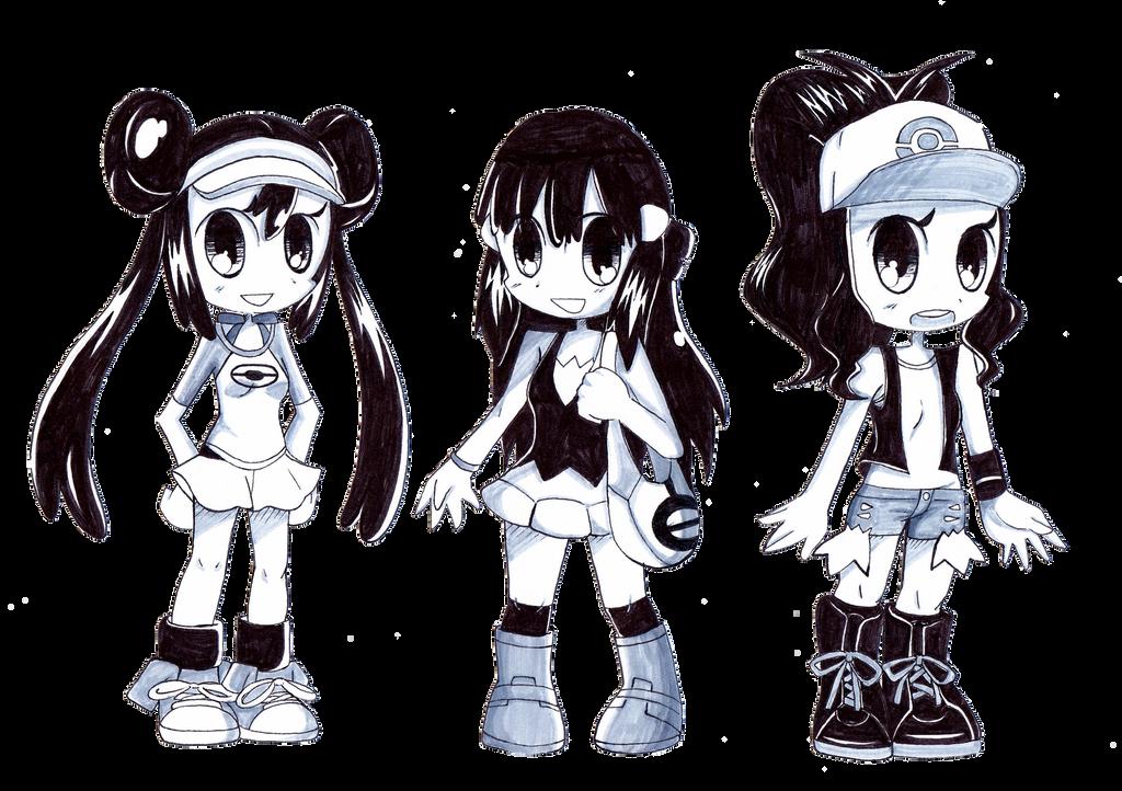 Pokegirls by STUNNINGDemon