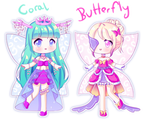 OPEN! 2/2 [Adopt Batch] November Fairy Adopts!