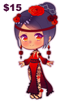 CLOSED [Adoptable] RedRose ($15)