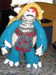 Crochet Rammus by nyalothep