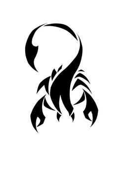 Scorpion tattoo desighn