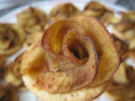Mini Rose Apple Tart