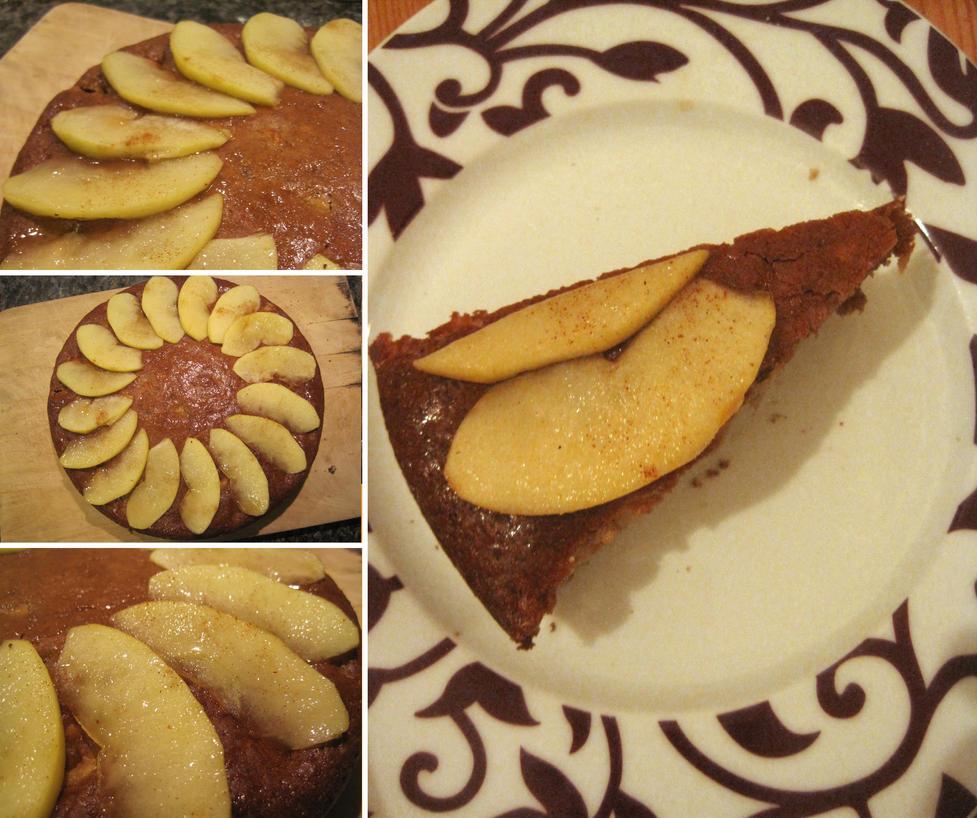 Apple Cake by flameshaft