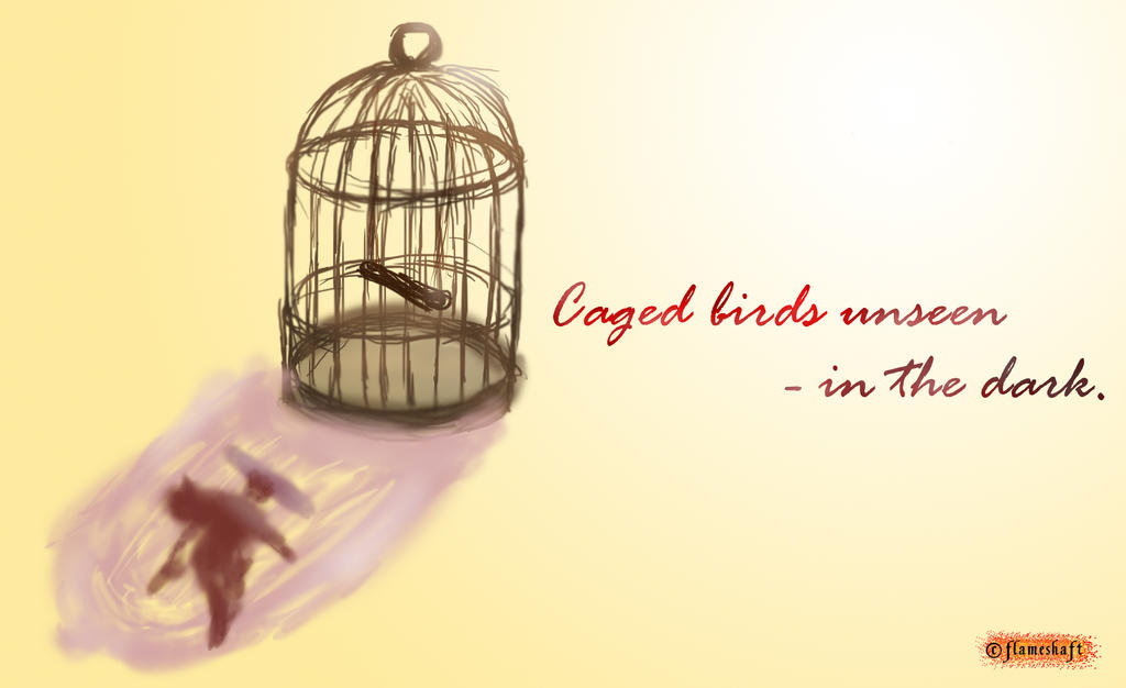 Caged Birds by flameshaft