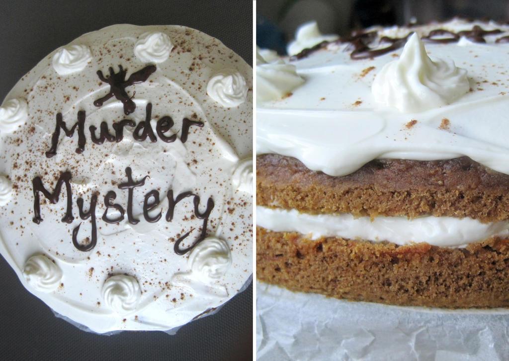 Murder Mystery Carrot Cake by flameshaft