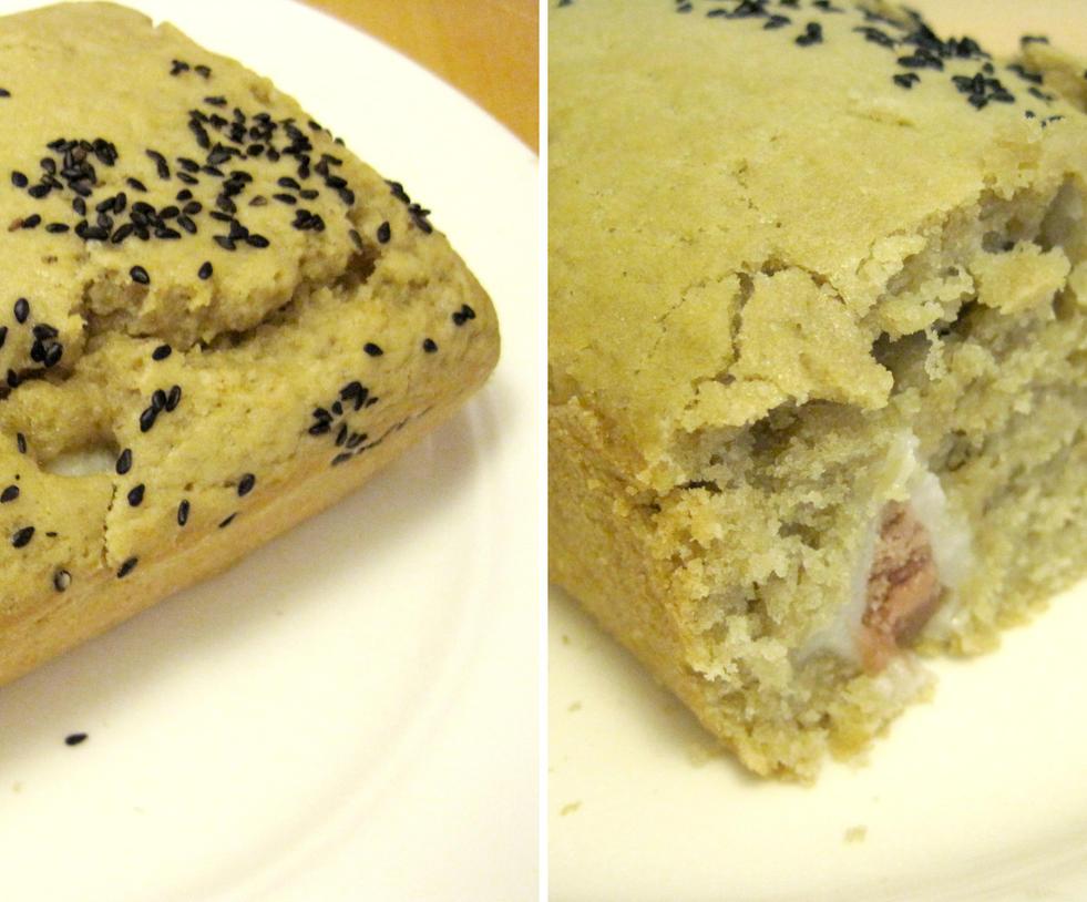 Sesame Mochi Cake