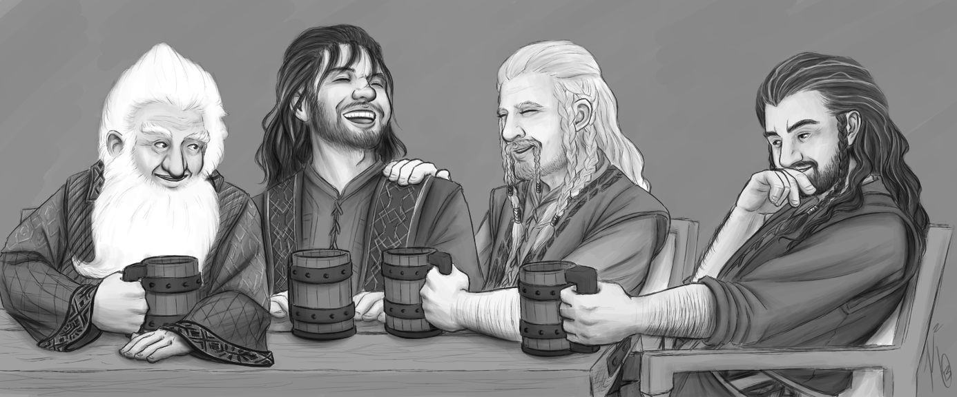 Cold Drinks, Warm Laughter, Old Tales by KatChan00