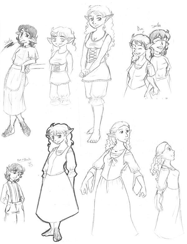 Hobbit Sketchdump by KatChan00