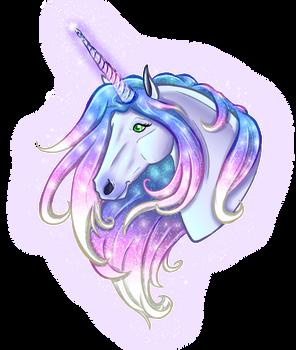 Unicorn and sparkles