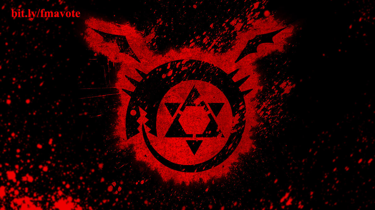 Full Metal Alchemist Ouroboros Wallpaper By Kayden007