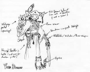 Eldar Corsair Void Dreamer by Armel