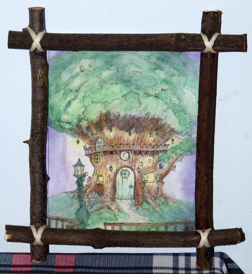 Tree of Dreams - framed by Armel