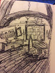 Pen and ink tavern