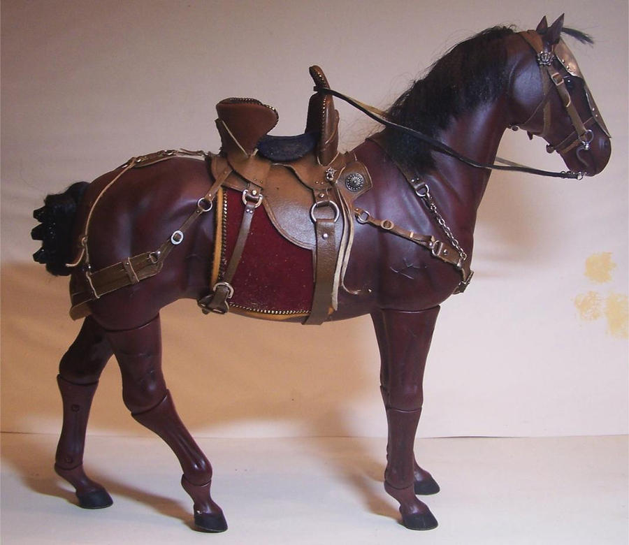 Saddle for a Medieval Warhorse by cbgorby on DeviantArt