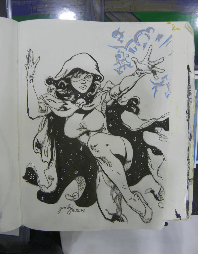 Comic Expo Sketch 2 by cbgorby