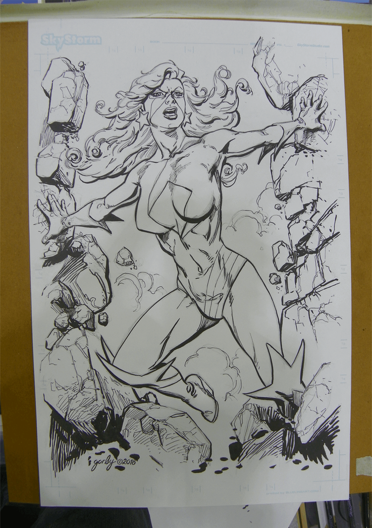 Comic Expo Sketch 3 by cbgorby