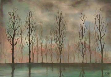 Trees by goingforawalk