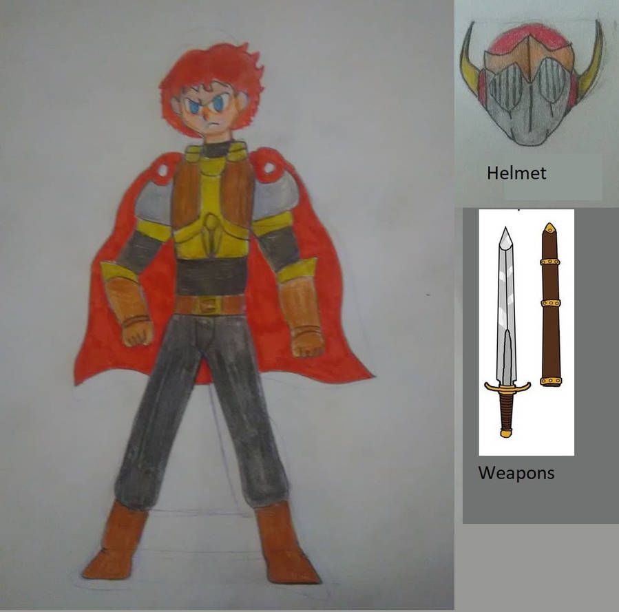 Aarono Bowson (Fire Emblem Unofficial OC) by JohnnOCFCxx on