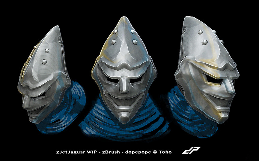 Jet Jaguar head