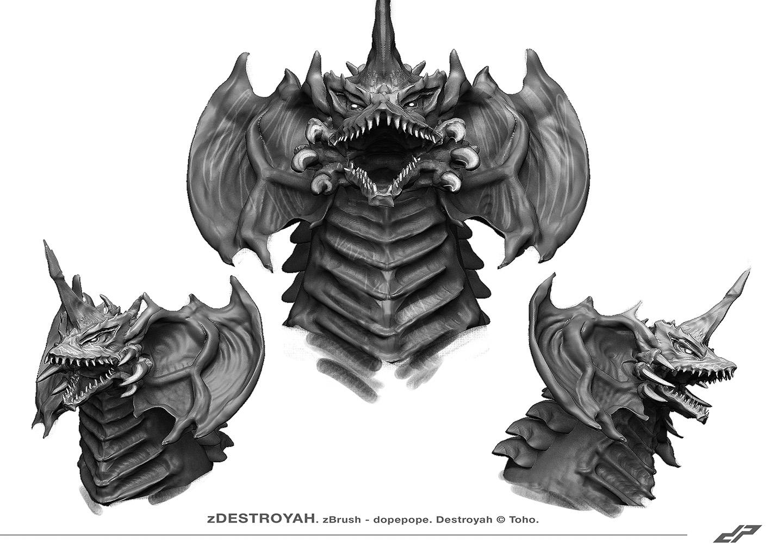 Destroyah sketch