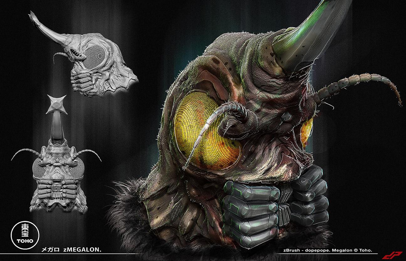 Megalon Head