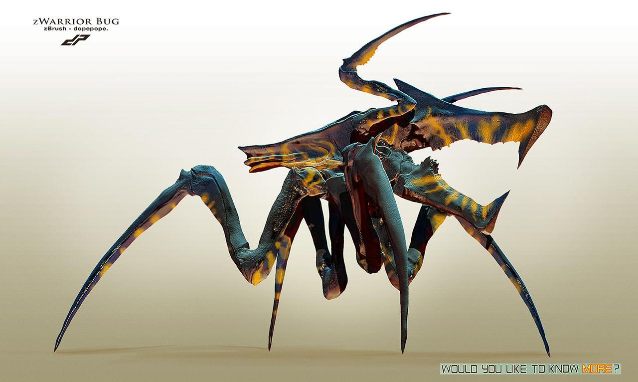 zWarrior Bug by dopepope