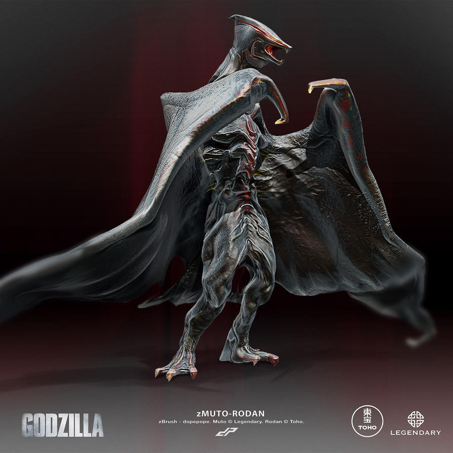 Here's what MUTO-Rodan and MUTO-Gigan could look like ...