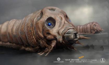 zMOTHRA Larvae by dopepope