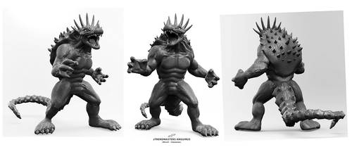 zTrendmasters Anguirus Commission by dopepope