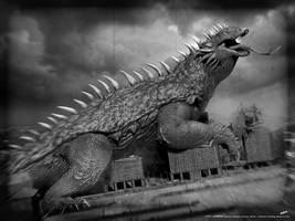 zVARAN vintage - Godzilla: Heritage concept by dopepope